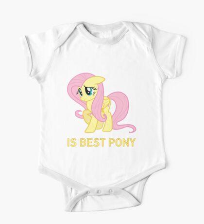 Fluttershy Is Best Pony - MLP FiM - Brony One Piece - Short Sleeve