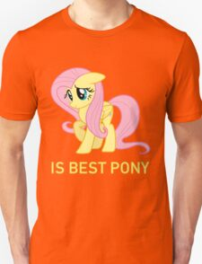 Fluttershy Is Best Pony - MLP FiM - Brony Unisex T-Shirt