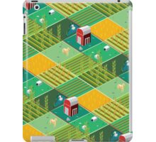 Isometric Farmlands iPad Case/Skin