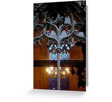 Gothic Detail - Valencia, Spain Greeting Card