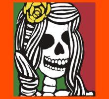 Rasta skeleton girl. Kids Clothes