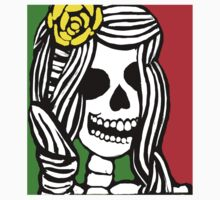 Rasta skeleton girl. One Piece - Short Sleeve