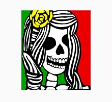 Rasta skeleton girl. Unisex T-Shirt