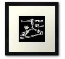 BTTF: Flux capacitor Framed Print
