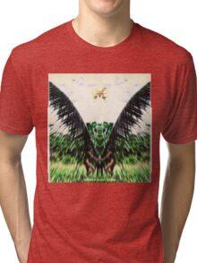 The Cosmic Serpent Apparition Tri-blend T-Shirt