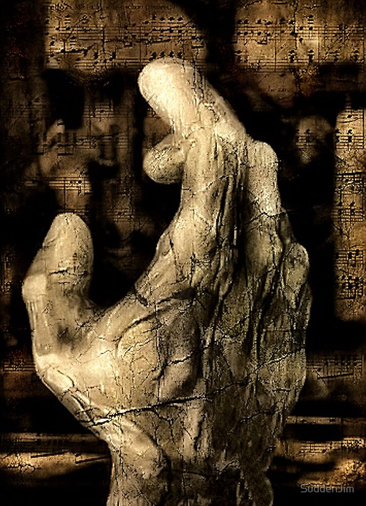 Hand With Notes by SuddenJim