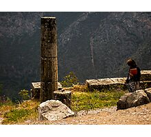 Delphi, Greece Photographic Print