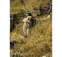 Ruins at Ephesus, Turkey Photographic Print