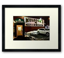 Muldoon's Saloon and Eatery Framed Print
