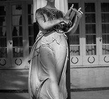 One of the Nine Muses at The Achilleion Palace (ii) by Nevermind the Camera Photography