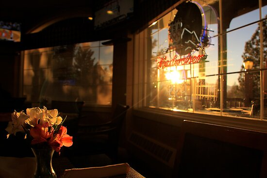 Light Through the Window by Barbara  Brown