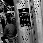 Love the rain by baudman