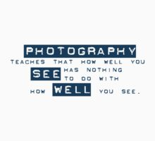 How well you see... by Jeff East
