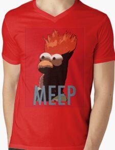 MEEP Mens V-Neck T-Shirt