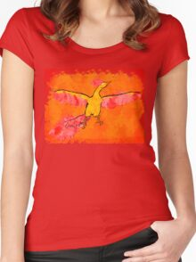 Moltres Through the Flames Women's Fitted Scoop T-Shirt