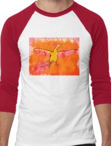 Moltres Through the Flames Men's Baseball ¾ T-Shirt