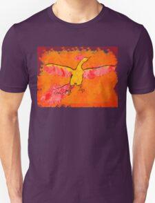Moltres Through the Flames Unisex T-Shirt
