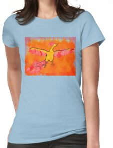 Moltres Through the Flames Womens Fitted T-Shirt
