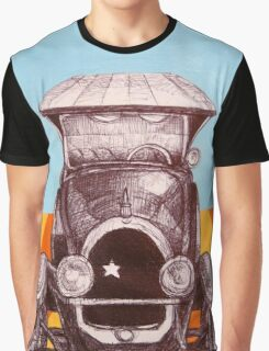 The Sheriff's Car Graphic T-Shirt