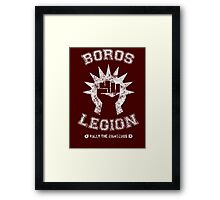Magic the Gathering: Boros Legion Guild Framed Print