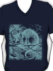 Blue Cheshire Cat  T-Shirt