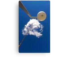 Cloud and Crane Canvas Print