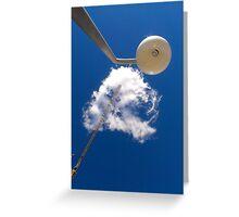 Cloud and Crane Greeting Card