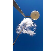 Cloud and Crane Photographic Print