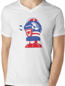 Sparky Mens V-Neck T-Shirt