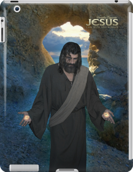 Jesus: I Am with you always (iPad Case) by Angelicus