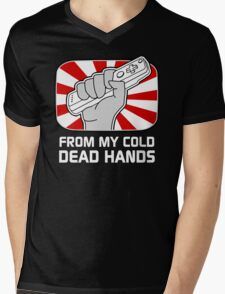 From my cold dead hands Mens V-Neck T-Shirt
