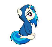 Vinyl Scratch - Lost in Thought Print Photographic Print