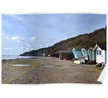 Monmouth Beach-Lyme Regis.Dorset UK Poster