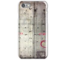 Concrete Wall iPhone Case/Skin