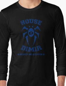 Magic the Gathering: House of Dimir Guild Long Sleeve T-Shirt