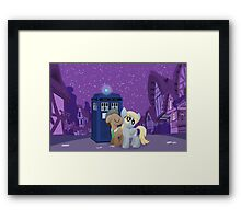 Derpy's First Kiss (My Little Pony: Friendship is Magic) Framed Print