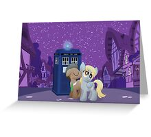 Derpy's First Kiss (My Little Pony: Friendship is Magic) Greeting Card