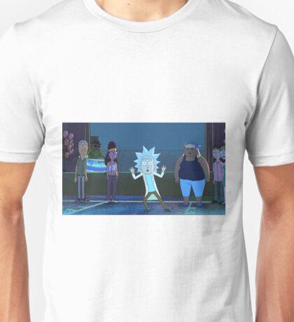 Tiny Rick Unisex T-Shirt