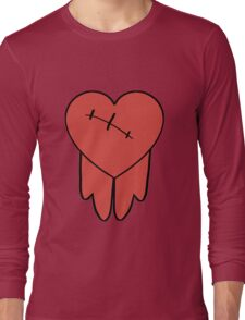 Robbie cosplay hoodie bleeding heart Long Sleeve T-Shirt