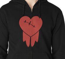 Robbie cosplay hoodie bleeding heart Zipped Hoodie