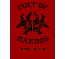 Magic the Gathering: Cult of Rakdos Guild Photographic Print