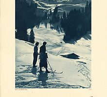 Vintage poster - Tyrol by mosfunky