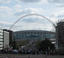 Wembley Stadium by ThomasQuder
