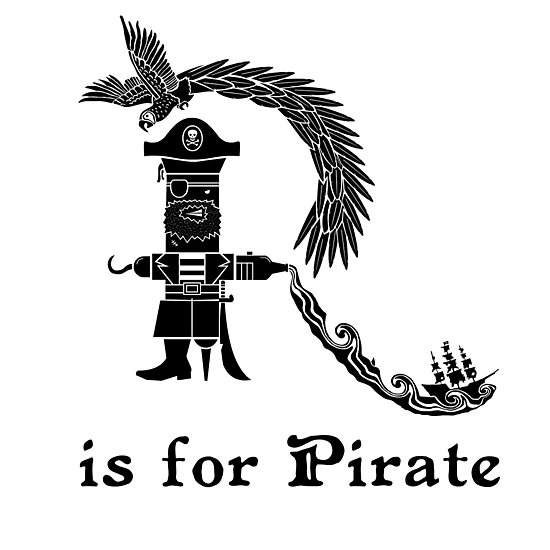 Arrr Is For Pirate by Teo Zirinis