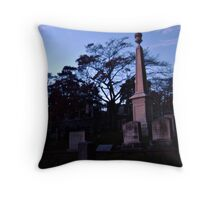 Fire and Stone, Sleepy Hollow Cemetery, Sleepy Hollow NY Throw Pillow