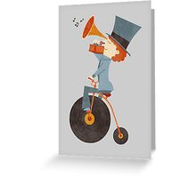 Rolling Old School Greeting Card