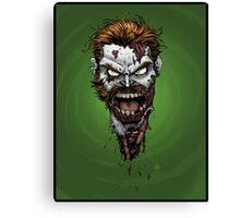 Irish Zombie  Canvas Print