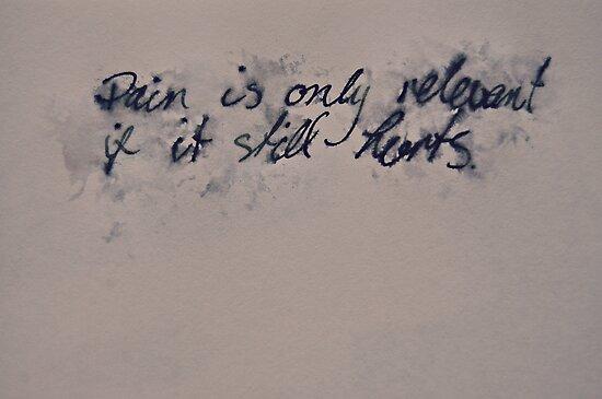 If It Still Hurts.  by LlandellaCauser