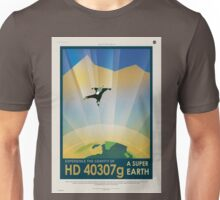 HD 40307g Space Mars Travel Poster Unisex T-Shirt