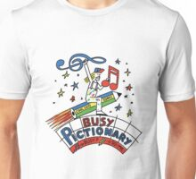 Busy Pictionary Ed Banger Records Unisex T-Shirt